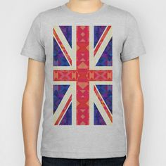 Great Britain Flag #2 Kids T-Shirt by Ornaart - $20.00