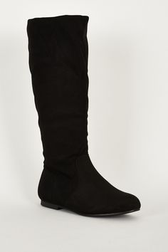 New in: Black Stylish Low... Check it out! http://www.fbargainsgalore.co.uk/products/black-stylish-low-heels-faux-suede-flat-womens-calf-boots?utm_campaign=social_autopilot&utm_source=pin&utm_medium=pin