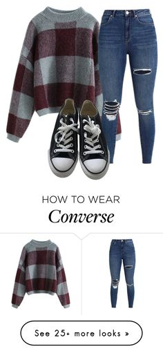 """Untitled"" by btsarmyjungkook on Polyvore featuring Converse"