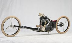 American Motorcycles Norway: Chemical Chopper`s blown Indian Army Scout