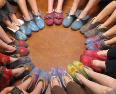 Warmth ~ Felted Slippers ~ eBook for purchase