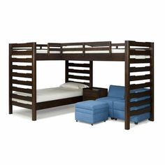 Studio Triple Corner Loft Bed-Kids Room Solutions