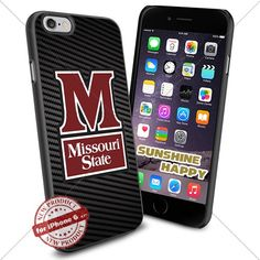 Missouri State Bears, Logo NCAA Sunshine#2070 Cool iPhone 6 - 4.7 Inch Smartphone Case Cover Collector iphone TPU Rubber Case Black SUNSHINE-HAPPY http://www.amazon.com/dp/B011SH5EHC/ref=cm_sw_r_pi_dp_VBH.vb08H3AJP