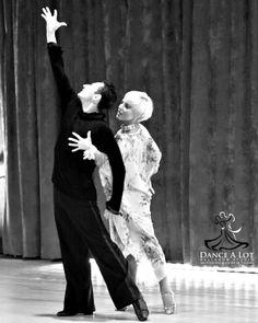 "Adriana Bezmenova and Georgi Kanev performing their show ""The Mime"""