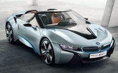 BMW has unveiled the third concept car from its i8 series of electric-gas hybrids: the i8 Spyder.     The i8 Spyder is based on the i8 concept car which debuted in 2011, ditching the top and the back two seats, and perhaps some of the more radical ideas from BMW's first sporty hybrid concept.     ...