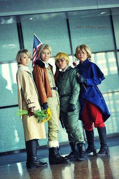 hetalia i am so gonna cosplay as them some day for Comic Con