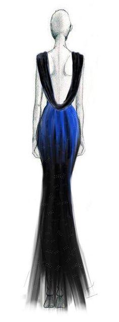 Fashion Ilustration - Melissa Cruz