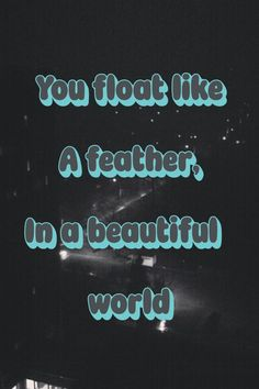 Love this song. Creep - Radiohead
