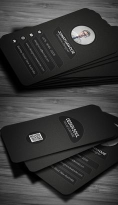 Beautiful and clean business card templates design by creative artists and designers. Each business card is fully editable, very easy to use and customize in Business Card Maker, Business Cards Layout, Vertical Business Cards, Free Business Cards, Unique Business Cards, Professional Business Cards, Luxury Business Cards, Business Company, Graphisches Design