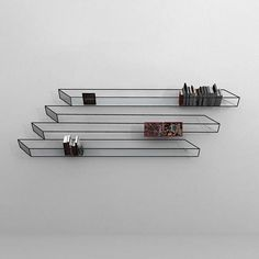 Wire Bookshelf. I had to stop and look at this one for a while.