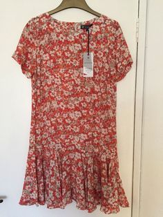 M&S BEST OF BRITISH Ladies Dress 100%PURE SILK UK12 EU40 BNWT