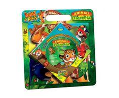 Animais da Floresta - Book & Play