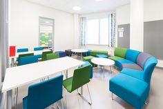 Urjalan yhtenäiskoulu, Urjala Innovation, Conference Room, School, Table, Inspiration, Furniture, Home Decor, Biblical Inspiration, Decoration Home