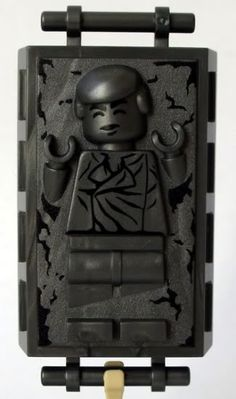 Lego Han Solo in carbonite
