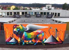 Okuda San Miguel - Arcugnano, Vicenza, Italy, 2016
