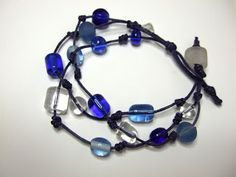 Beader's Companion Blog: Floating Beads Knotted Bracelet Project