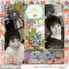 The Way You See Me by Meghan Mullens;  EZ Albums v4 {rounded} by Erica Zane; Custom Font