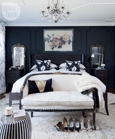 Black is the new chic - 15 dreamy master suites