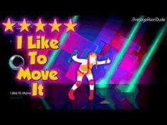▶ Just Dance Greatest Hits - I Like to Move It (Radio Mix) - 5* Stars - YouTube