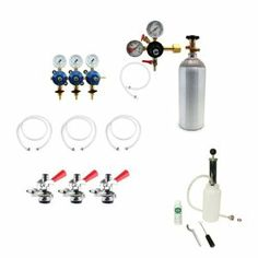 Accessory Kit for the KC72-L1-BS-LR by KegWorks. $375.50. Why buy your Kegerator supplies in parts and pieces? Get it all with this accessory kit!. Custom made for the Glastender Triple Tap Keg Refrigerator.. Includes a deluxe beer line cleaning kit.. You'll get all of the airside components that you need.. Everything you need to keep your beer flowing fine and tasting great.. Why buy your Kegerator supplies in parts and pieces? Get it all with this accessory kit! Th...