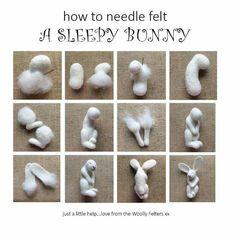Sleepy bunny tutorial