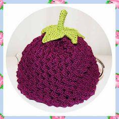 Ravelry: Baibin Blackberry Berry Teapot Tea Pot Cosy Cozy Cover Warmer DK Yarn Knitting Pattern pattern by Adel Kay