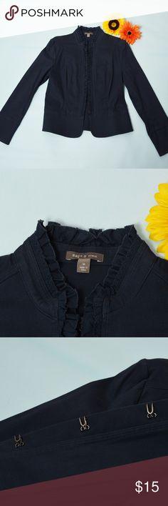 Long sleeve blue dress shirt, Apt 9 brand, size M Blue dress shirt or could used as a jacket, long sleeves, unique closures on front, Apt 9 brand, size medium Apt. 9 Tops Button Down Shirts