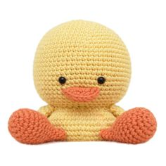 Henry the Duck crochet amigurumi pattern.  PLEASE NOTE: This listing is for the pattern only, not the finished product. Once your payment has been made the pattern will be available as a digital download in PDF format.  The finished duck measures approximately 10cm (4 inches) in height.  Materials required: - Crochet hook size 4.0mm (US size G) - DK / Light Worsted weighted yarn in yellow and orange colours - Polyester fibre filling (for stuffing) - A pair of round eyes (6mm) - Stitch…