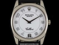 Rolex White Gold White Arabic Dial Cellini Danaos Gents B&P Rolex Cellini, Vintage Rolex, Breitling, Watches For Men, White Gold, Type, Jewelry, Jewlery, Men's Watches