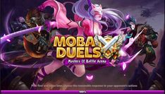MOBA Duels Masters Of Battle Arena is a Android Free 2 play Real Time Card Action Strategy Multiplayer Game