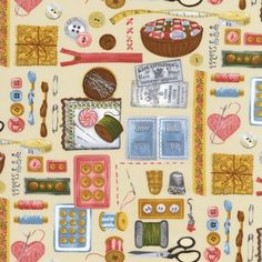 ALX-12074-14 by Les Deux Amies from Vintage Couturier: Robert Kaufman Fabric Company
