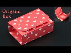Geschenkbox basteln / Origami Box falten - DIY - YouTube