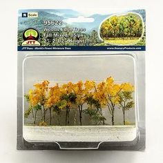 JTT-Scenery-Products-Fall-Mixed-Woods-Edge-Trees-N-Scale-2-034-to-2-5-034-15-pk-95622