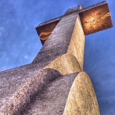 Heiliges Kreuz des Sankt Salvador. Holy cross of San Salvador. #baleares #mallorca #santuario #santsalvador #monasterio #panorama #holycross #malle #cross #iberia #espagna #catalunya #monastery #spain #islascanarias #islasbaleares
