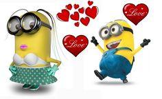 Happy Valentine's Day Minions!!!!