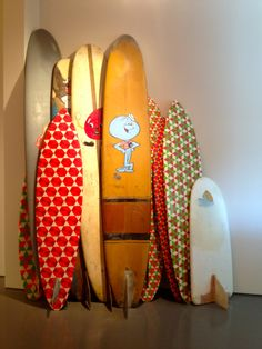 Barry Mcgee Surfboards // show us your quiver