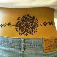 lower back henna tattoo 25 Excellent Henna Tattoo Designs Henna Designs Back, Tribal Tattoo Designs, Tattoo Designs And Meanings, Mehndi Designs, Tribal Tattoos, Tatoos, Sexy Tattoos For Women, Trendy Tattoos, Henna Mehndi