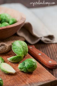 How to make sauteed Brussels sprouts on the stove. Perfect for your CSA delivery!