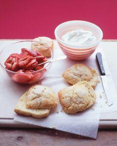 Strawberry Shortcakes - Martha Stewart Recipes