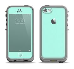 The Subtle Solid Green Apple iPhone LifeProof Fre Case Skin Set . I wish i had in iPhone 5 Iphone 5s, Coque Iphone 6, Iphone 5c Cases, Apple Iphone 5, Iphone Charger, Cute Cases, Cute Phone Cases, Smoothie, Monitor