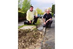 'Mud bath' verges in Sherwood are labelled as dangerous