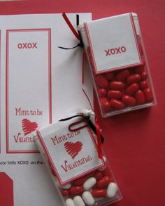 The Dollar Store Diva: Mint to be Valentines! - Cha-Ching on a Shoestring™ Cute Valentine Ideas, Valentine Treats, Valentines Day, Dollar Stores, Holiday Fun, Diy Gifts, Mint, Tic Tac, Grandparents