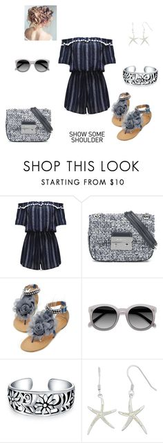 """""""Untitled #300"""" by jbillington ❤ liked on Polyvore featuring WithChic, MICHAEL Michael Kors and Bling Jewelry"""