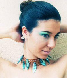 2010 wire crochet necklace Alessandra Stabili Wire Crochet Jewelry
