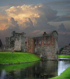 Castelo Rothesay, Escócia.