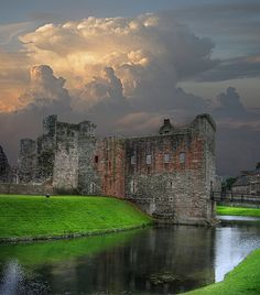 Rothesay Castle, Scotland ....... Breathtaking !