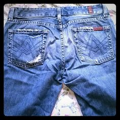 7 for all man kind jeans size 26 made in USA! Nice quality pair of jeans!  100% authentic. . Size 26 style u130206u-206u cut 705700 7 for all Mankind Jeans