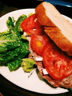 Salami and Cream Cheese Sour Dough Sandwich