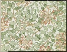 wallpaper samples | File:Brooklyn Museum - Wallpaper Sample Book 1 - William Morris and ...