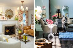 Touches of Whimsy make these rooms Fun!  By Schuyler Samperton Interior Design.